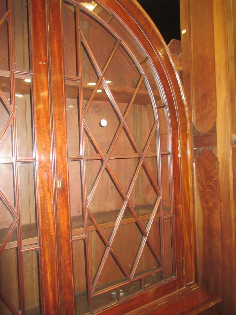 George III-Style Mahogany Bookcase - 4