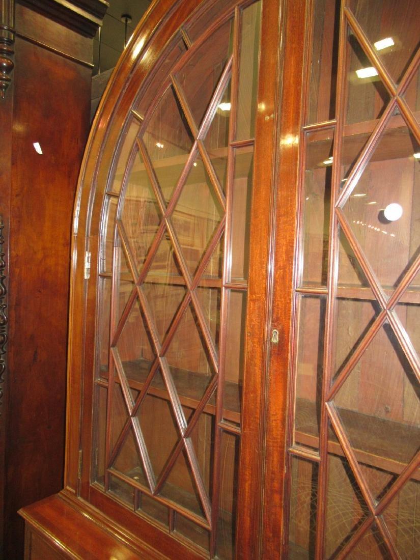 George III-Style Mahogany Bookcase - 5