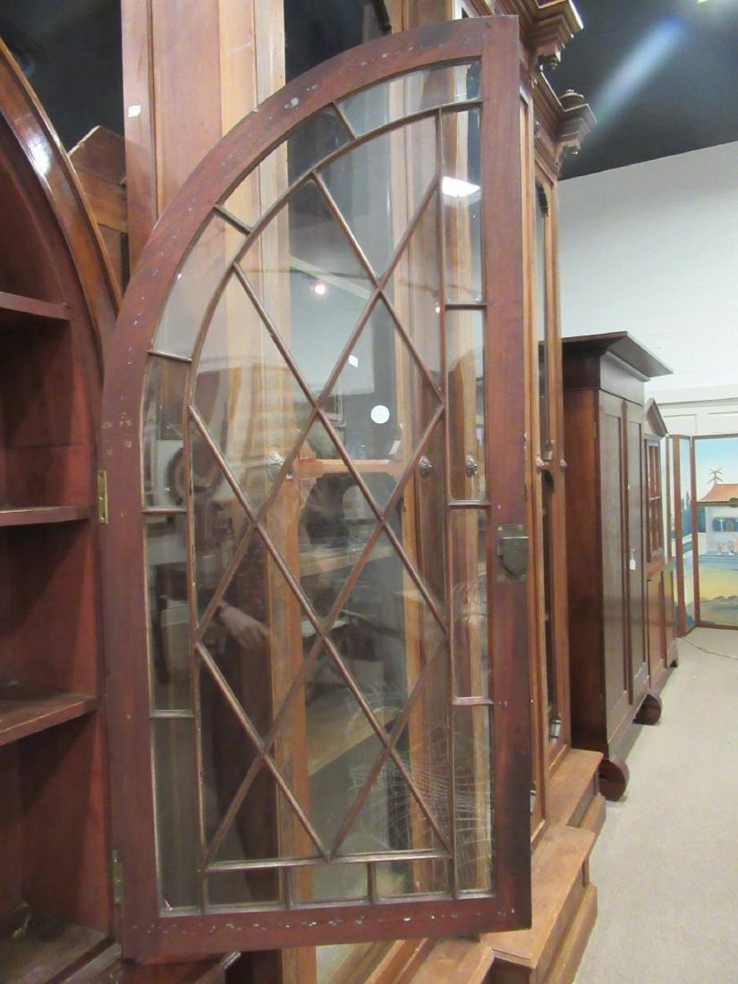 George III-Style Mahogany Bookcase - 7
