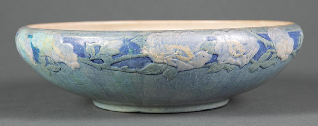Newcomb College Art Pottery Low Bowl - 2