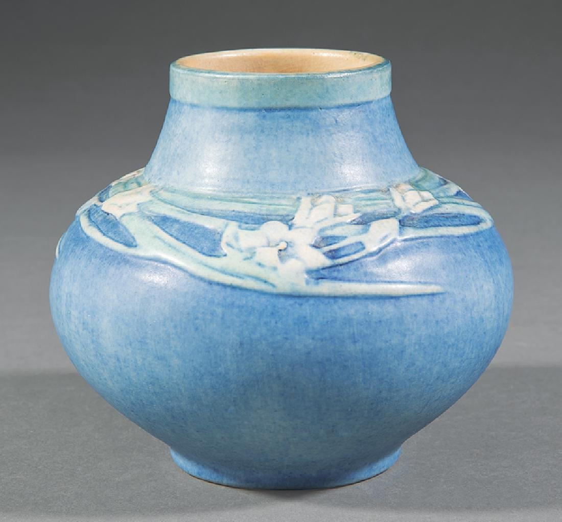 Newcomb College Art Pottery Low Vase