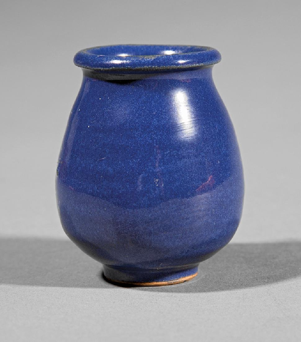 Newcomb College Art Pottery Forty Thieves Jar