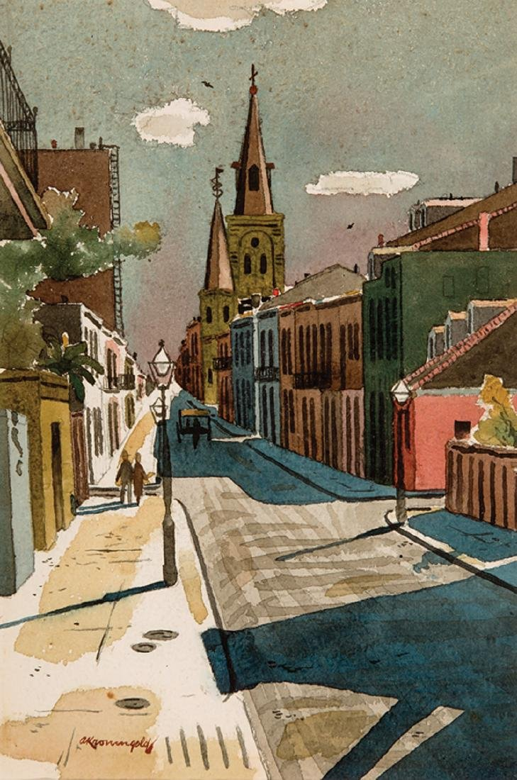 Adolph Kronengold (American/New Orleans, 1900-1986)
