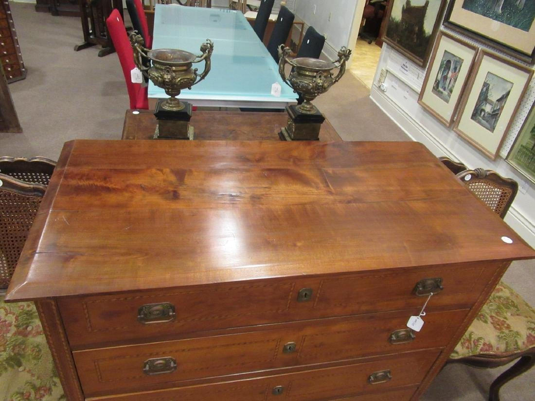 Italian Inlaid Fruitwood Chest of Drawers - 4