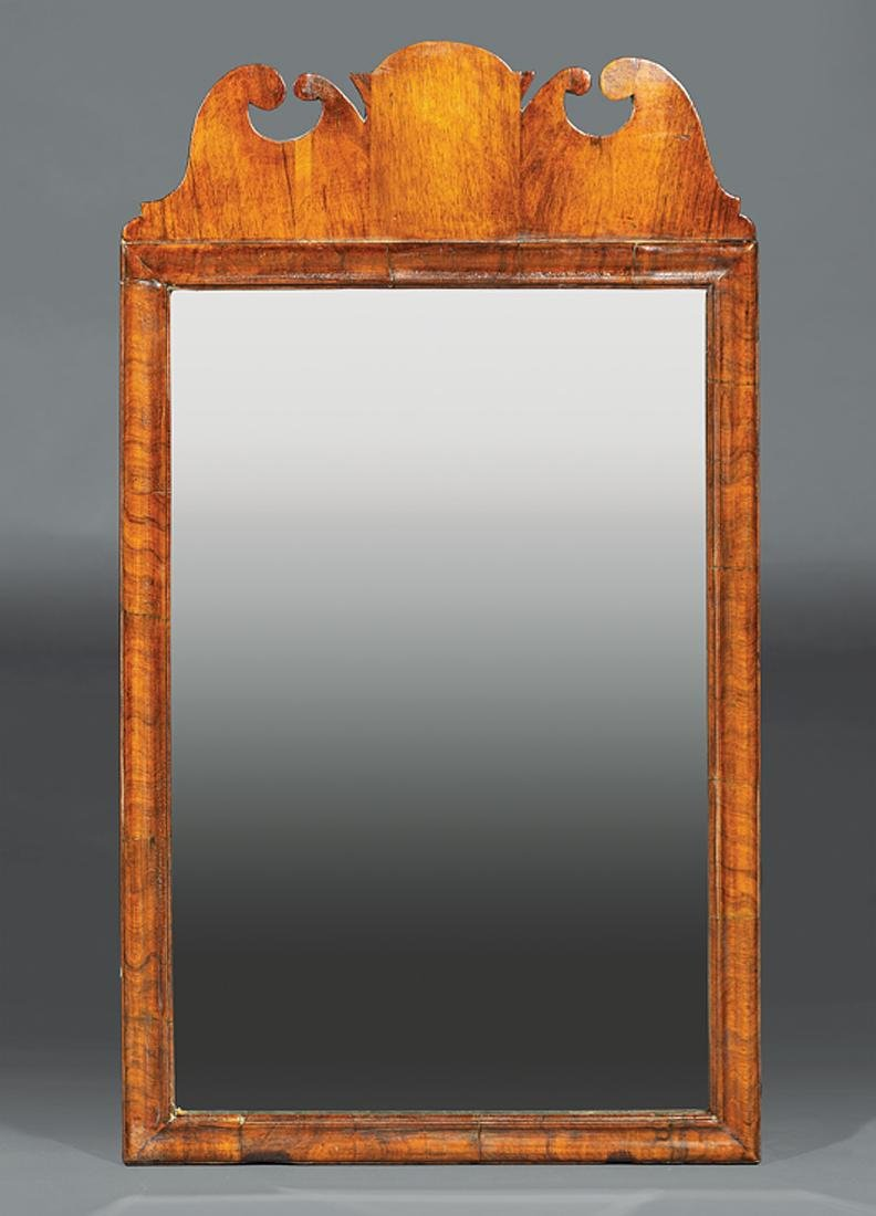 Chippendale Carved Mahogany Mirror