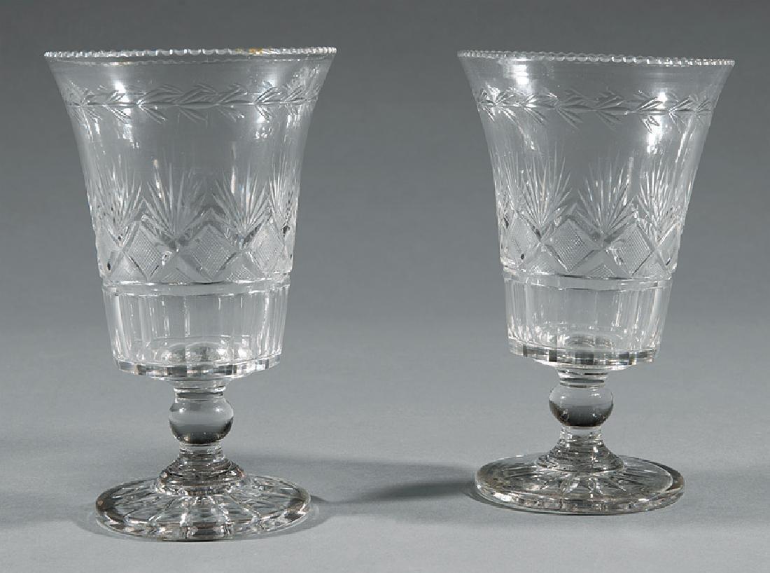 American Cut Glass Celery Vases