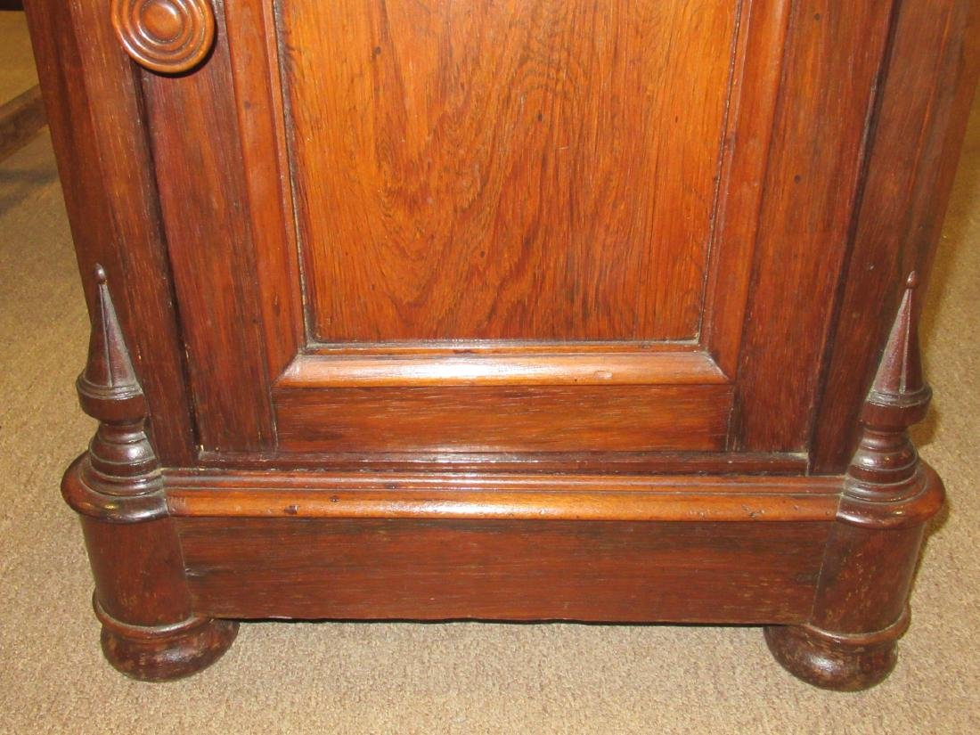 American Renaissance Carved Rosewood Bedside Commode - 6