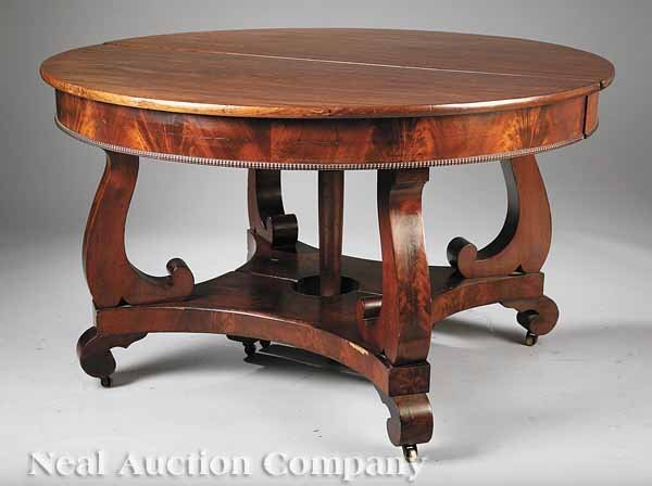 21: Mahogany Extension Dining Table