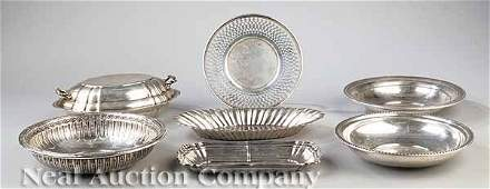 0655 American Sterling Silver Holloware Serving Pieces