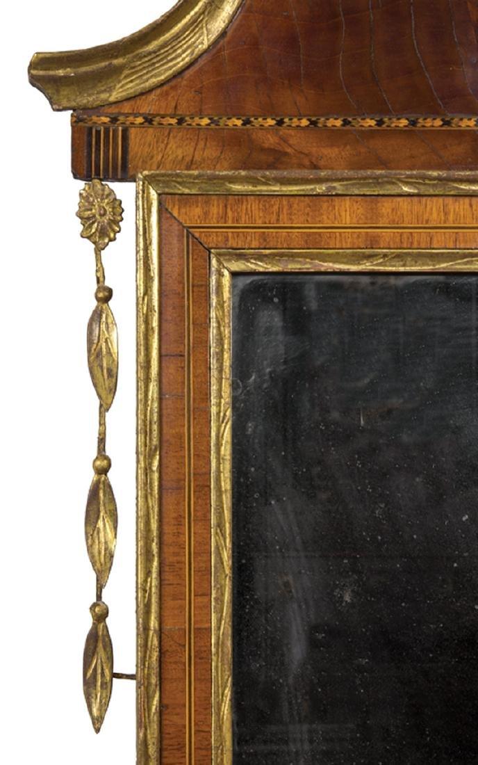 American Federal Gilded Mahogany Mirror - 3