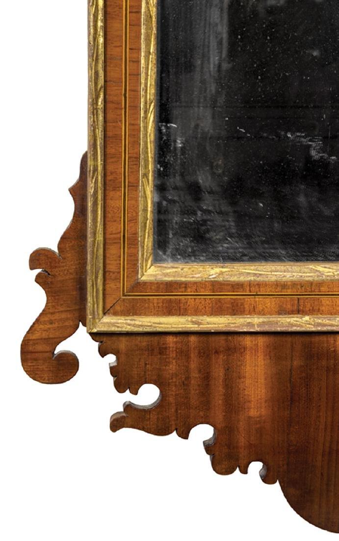 American Federal Gilded Mahogany Mirror - 4