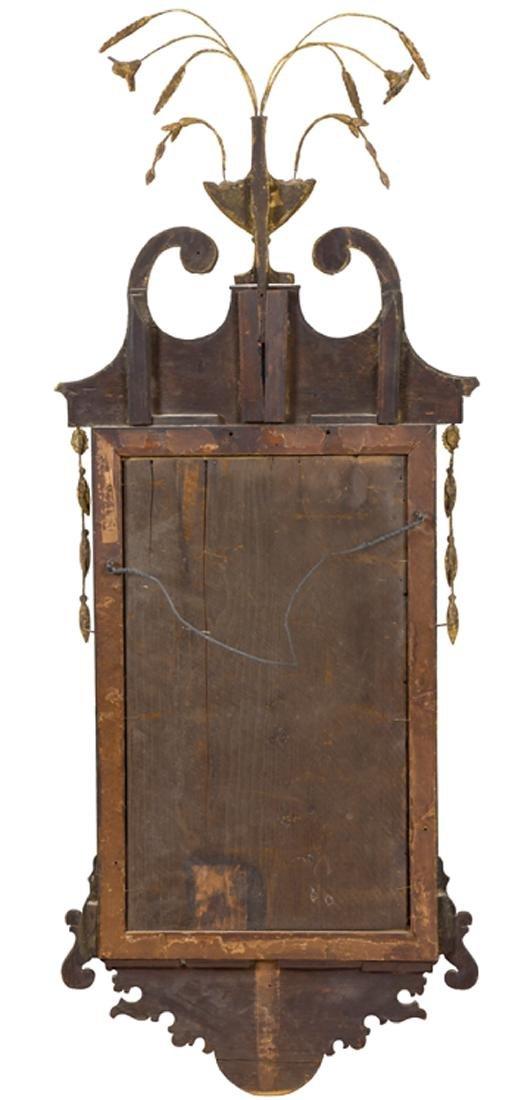 American Federal Gilded Mahogany Mirror - 5