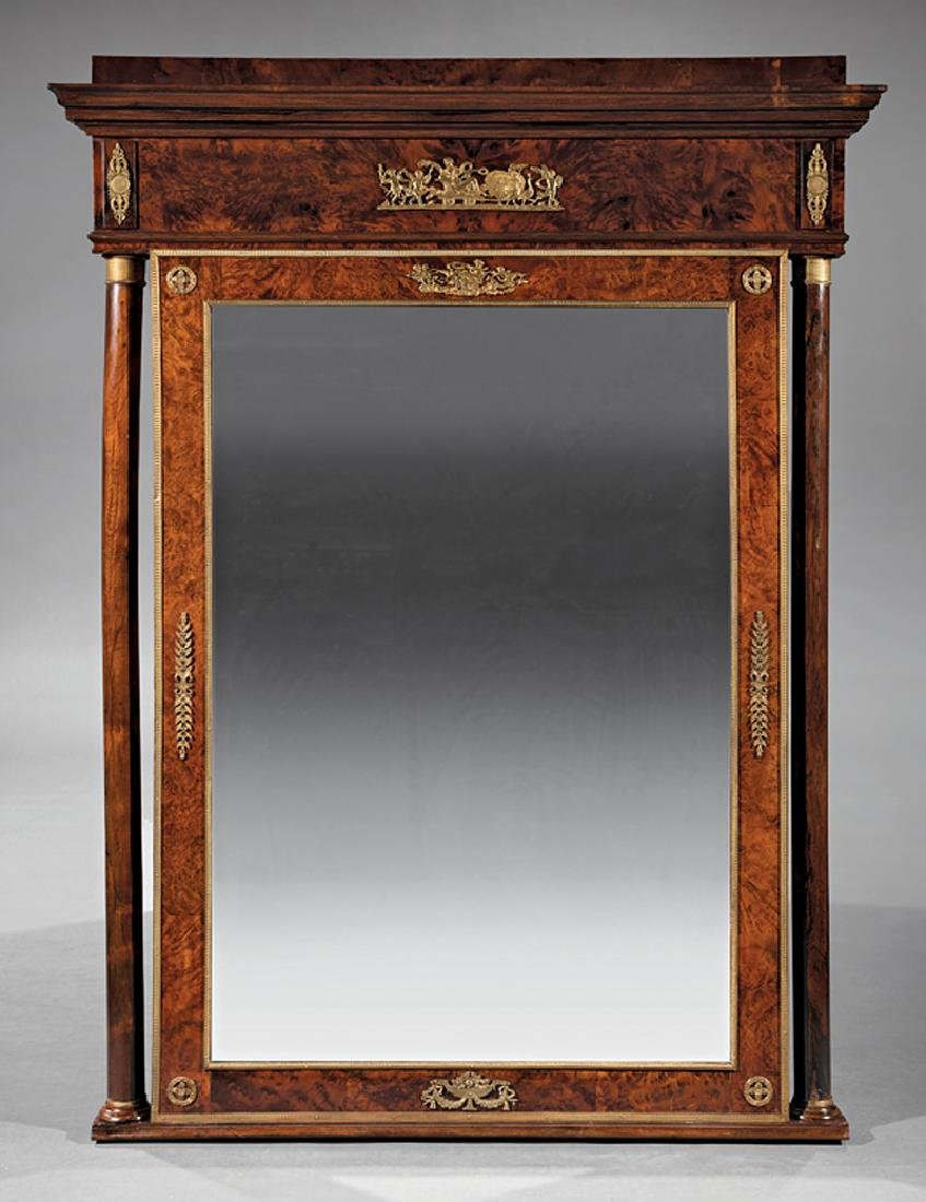 Bronze-Mounted Mahogany Commode and Mirror - 3