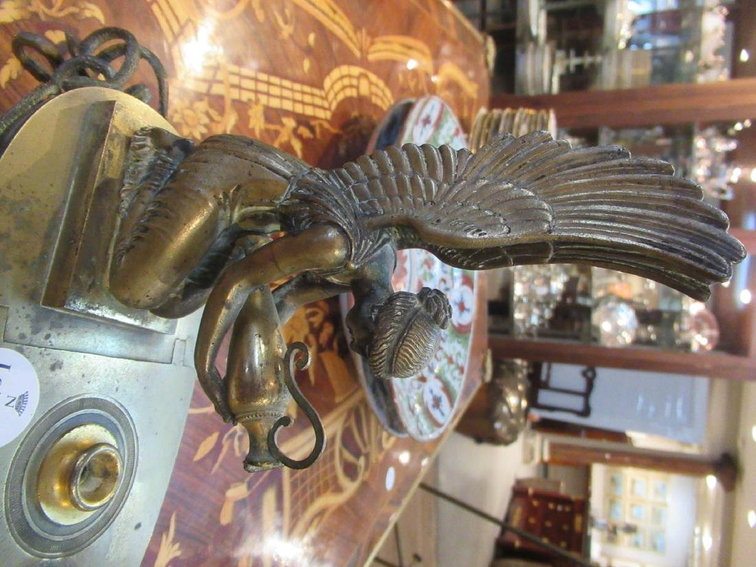 Grand Tour Bronze Oil Lamp - 3