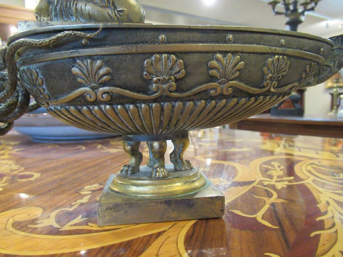 Grand Tour Bronze Oil Lamp - 5