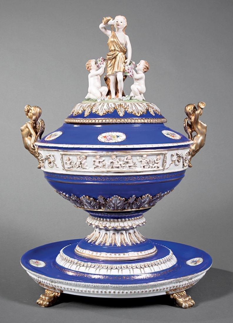 Dresden Porcelain Tureen