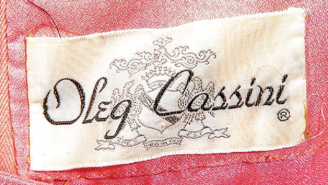 Halston Beaded Evening Jacket, Oleg Cassini Dress - 3