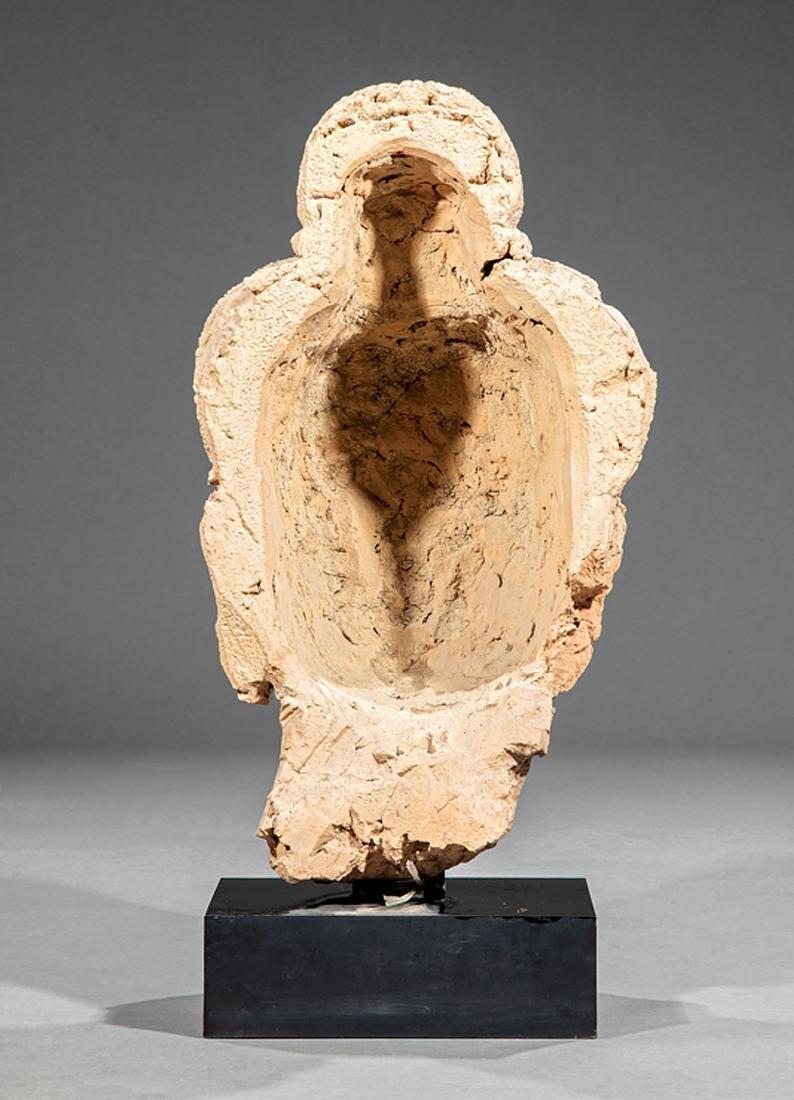 South Asian Terracotta Head of Buddha - 2