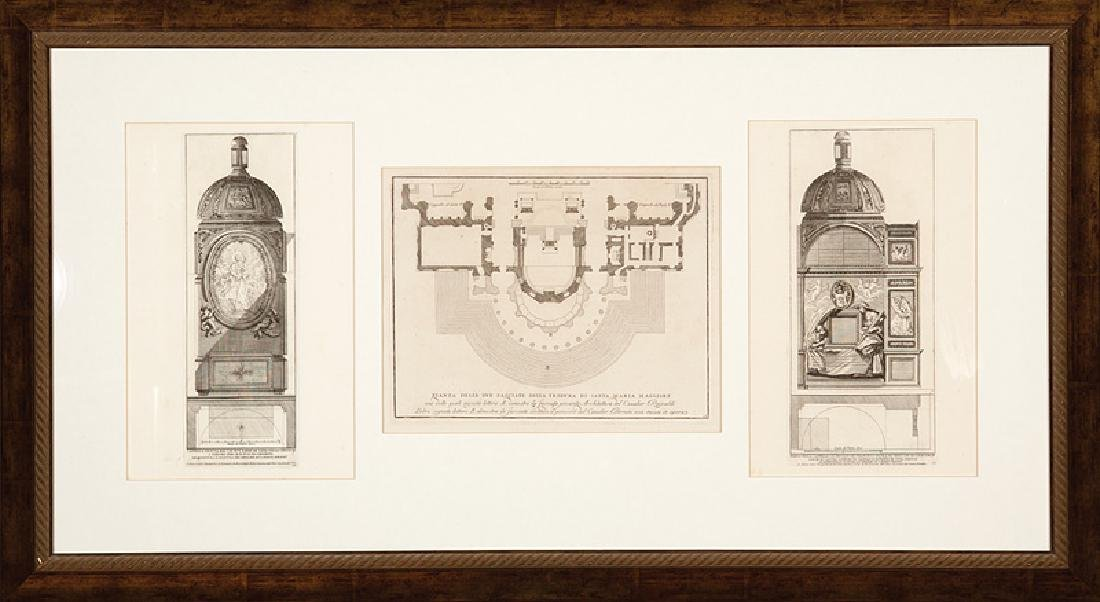 Architectural Engravings of Rome
