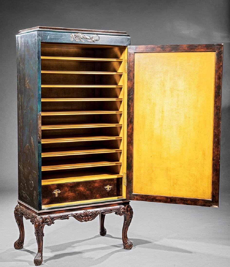 Chinoiserie Inlaid Lacquer Cabinet - 2