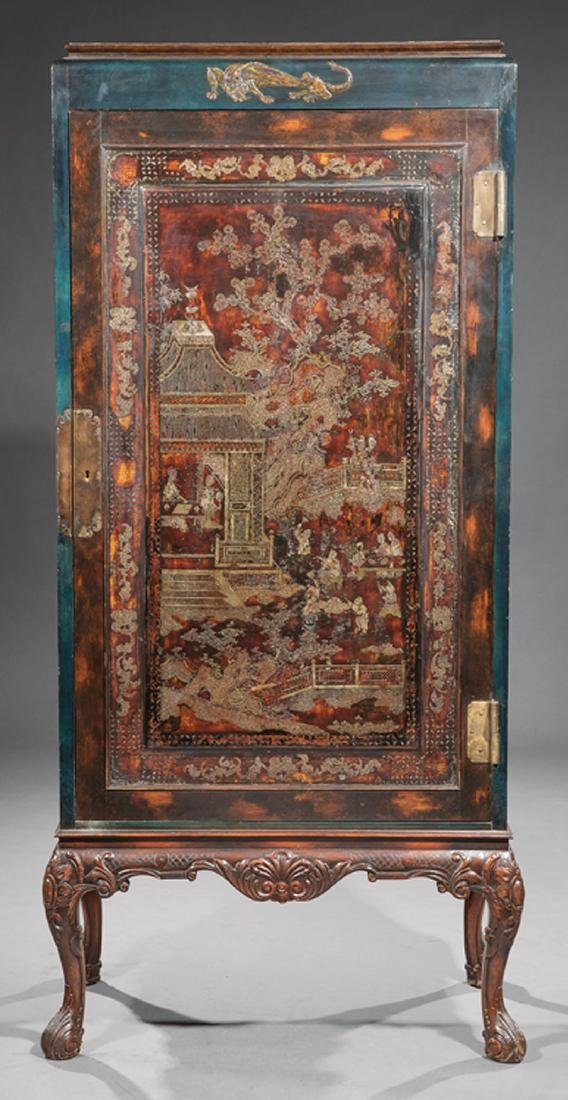Chinoiserie Inlaid Lacquer Cabinet - 3