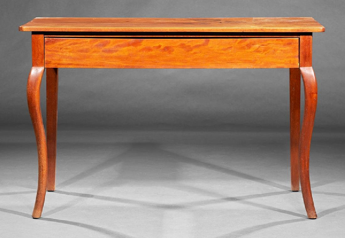 Provincial Carved Walnut Side Table - 2