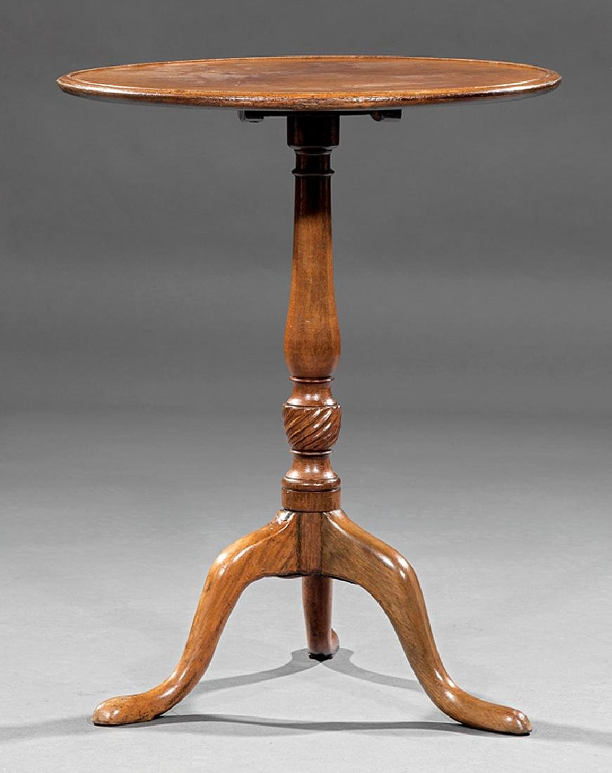 Georgian Mahogany Tilt-Top Tea Table - 2