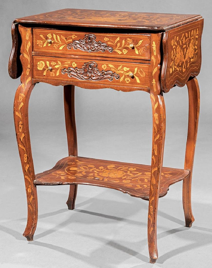 Dutch Marquetry Side Table