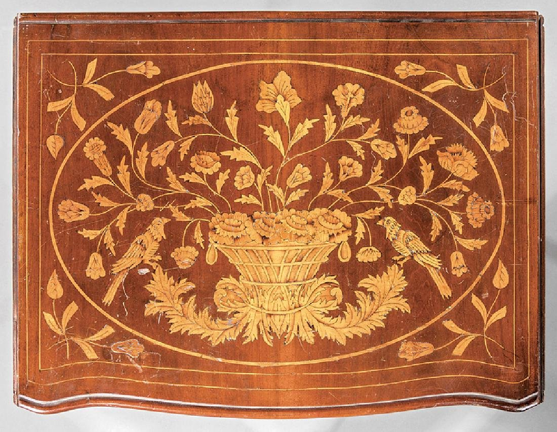 Dutch Marquetry Side Table - 4