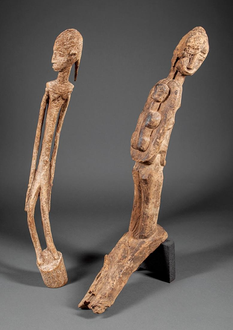 Arican Carved Wood Nommo Figure
