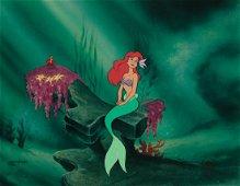 Walt Disney Little Mermaid Cel