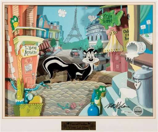 Animated Animations Pepé Le Pew & Penelope Cel
