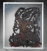 Thai Leather Hide Shadow Puppet Figure