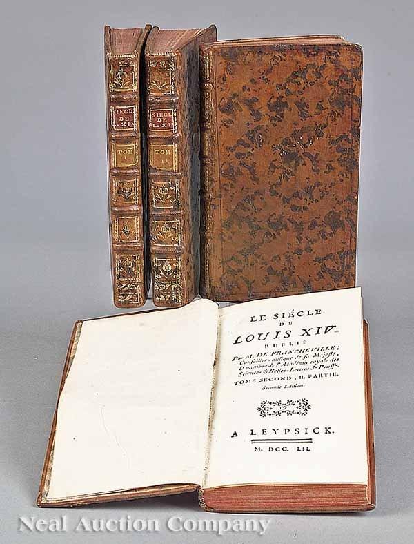 0006: 4 Vols. By M. De Francheville, 1752