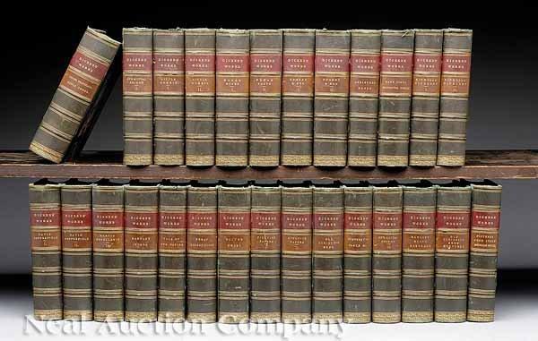 0008: Works of Charles Dickens, 26 volumes, 1871