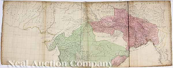 """0015: Thomas Jeffreys, """"The East Indies"""", Map, 1768"""