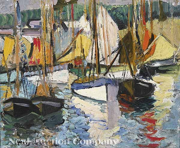 0158: Richard Hayley Lever, oil on canvas