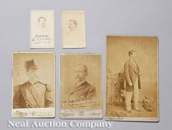 0564: Group of Five Photographs of Colonel Owen