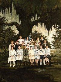 George Rodrigue (American/Louisiana, 1944-2013)