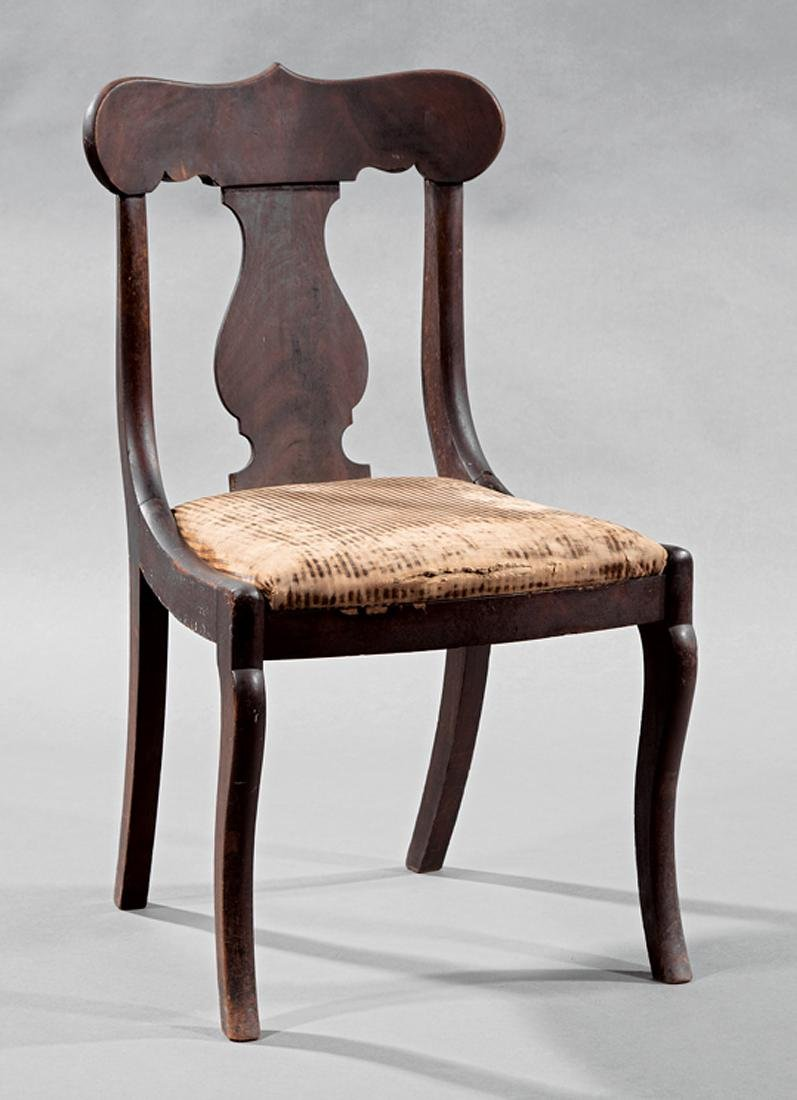 American Classical Mahogany Side Chair