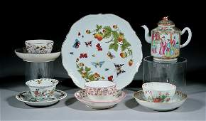 Group of Antique Chinese and English Porcelain