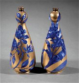 Pair of Thomas Forester & Sons Art Pottery Vases