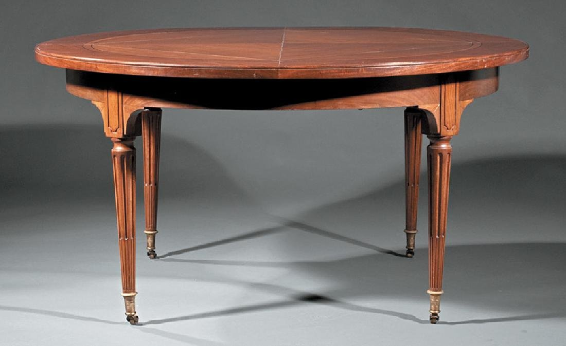 Continental Walnut & Mahogany Breakfast Table