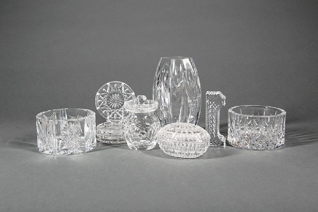 Group of Waterford Crystal Objects
