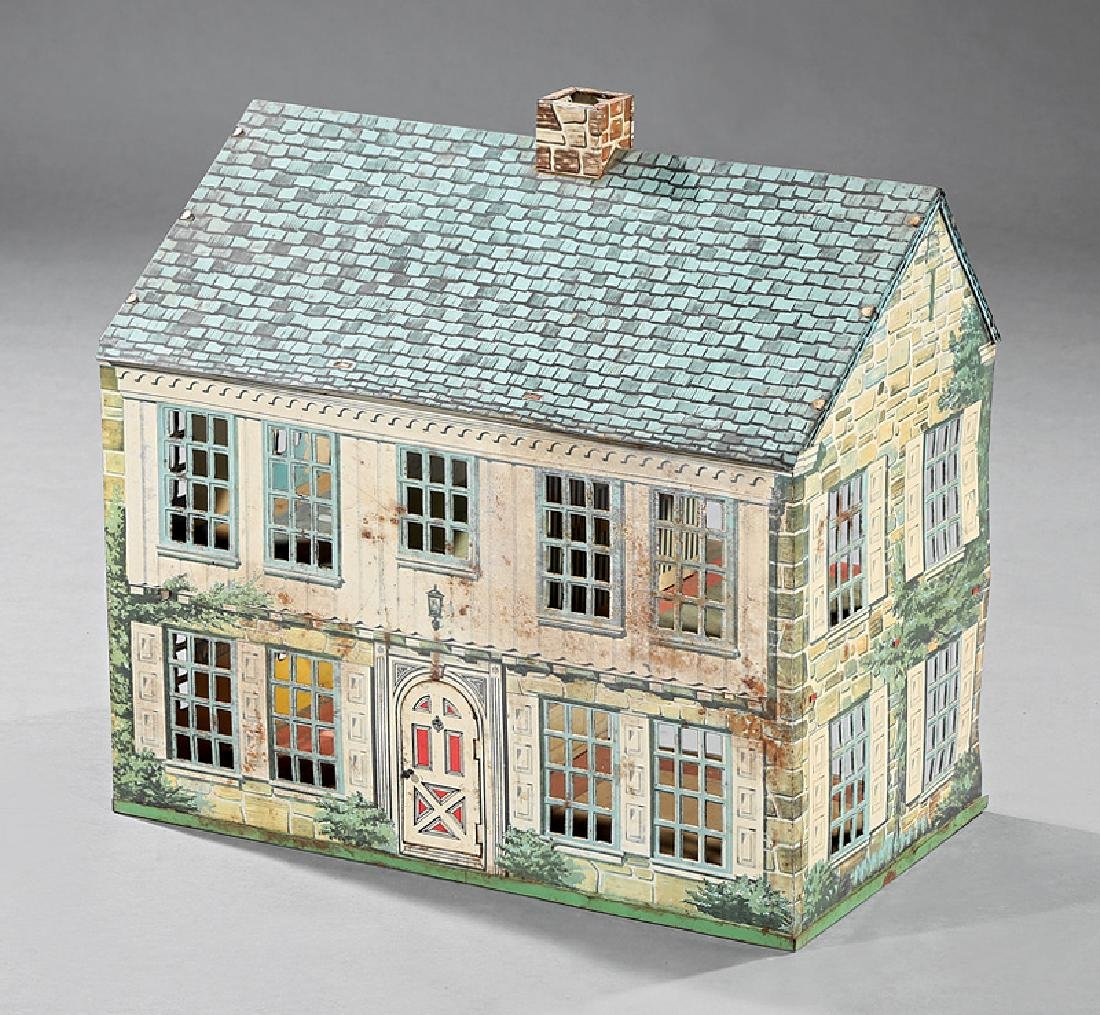 Vintage Metal Doll House