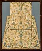 Embroidered White Silk Ecclesiastical Vestment