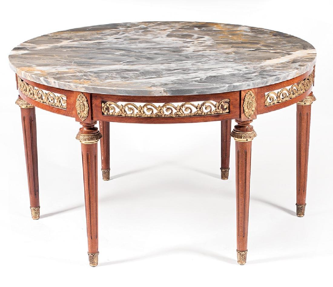 Bronze-Mounted Mahogany Low Table