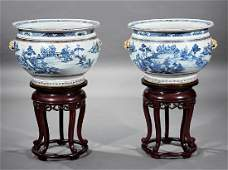 Chinese Blue and White Porcelain Jars