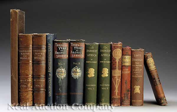0001: Group of Twelve Travel and Exploration Books