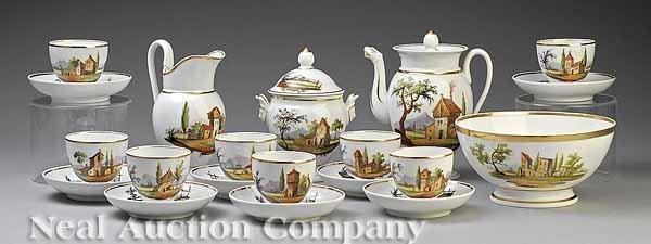 0019: Paris Porcelain Tea Set